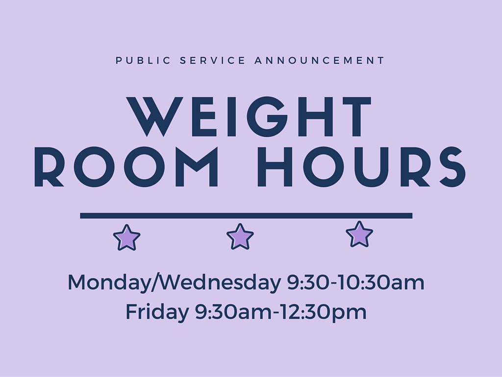 WEIGHT ROOM HOURS (2)