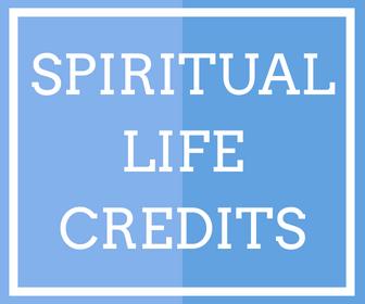 Spiritual life credits (4)