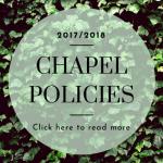 Chapel Policies