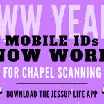 Mobile IDs Work for Chapel Scanning!