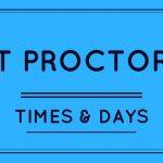 Test Proctoring Times