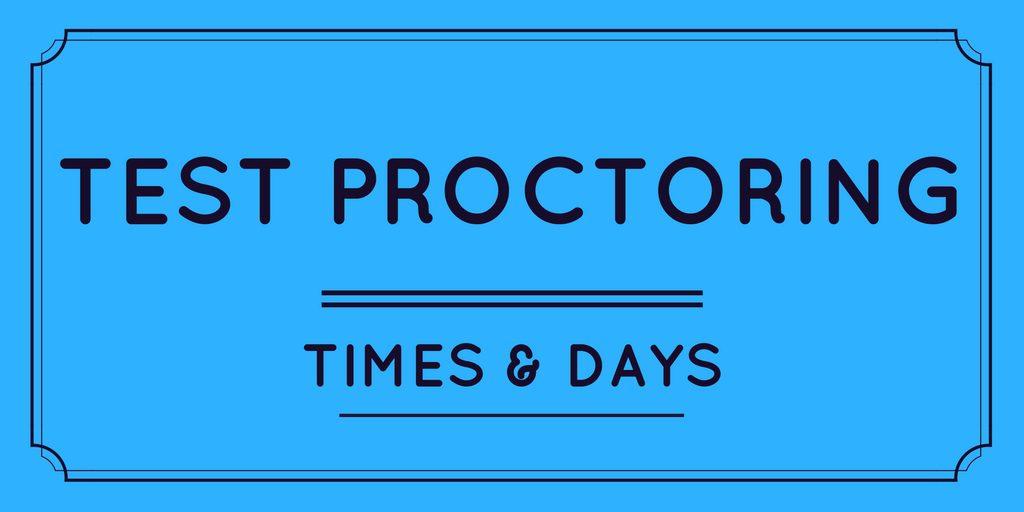 Test Proctoring - My Jessup banner