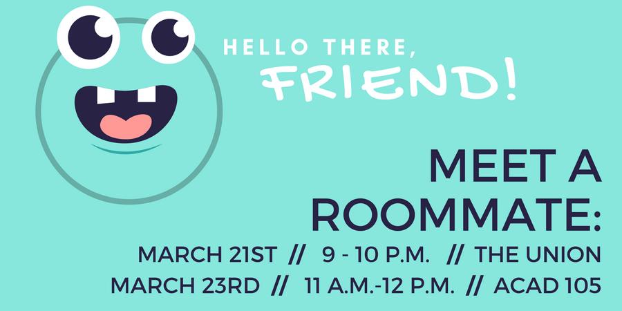 Meet A Roommate