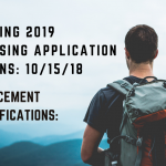 Spring New Student Applications