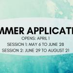 Summer Housing Application