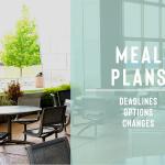 Meal Plan Information
