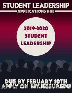 Studen leadership info meeting