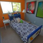 Furnished Bedroom with Rocklin Family