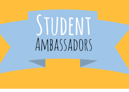 Be a Student Ambassador!