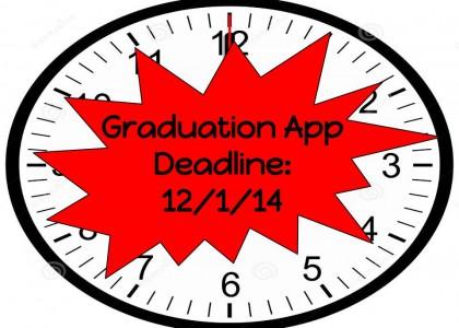 Apply for Graduation!