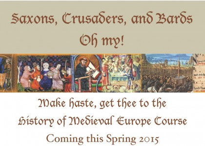 Medieval History Course This Spring