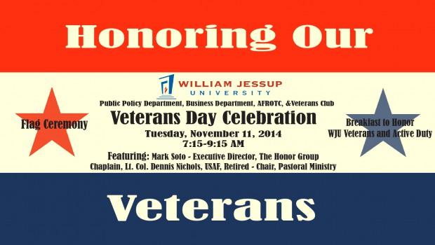 """""""Honoring Our Veterans"""": Veterans Day Celebration"""