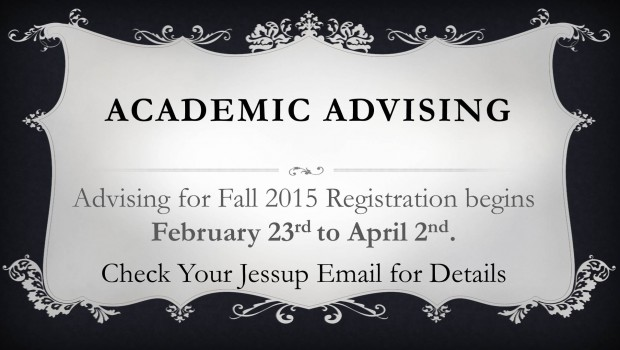 Academic Advising is Coming!