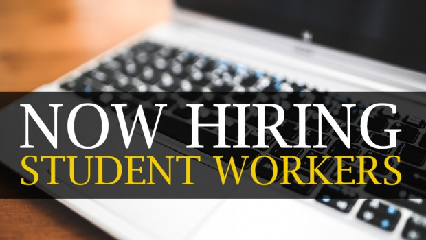Now Hiring Student Workers for Jessup Online