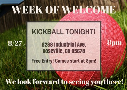 KICKBALL TONIGHT!!!!