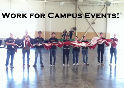 Work For Campus Events!