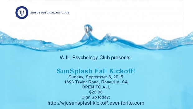 Jessup Psychology Club Sunsplash Event