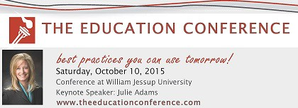The Education Conference-Volunteers Needed