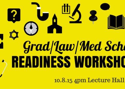 Grad/Law/Med School & Seminary Prep WORKSHOP