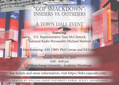 Town Hall Event featuring Congressman Tom McClintock