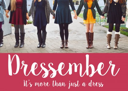 Dressember: It's more than just a dress.