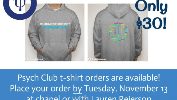 Psych Club Sweatshirts!