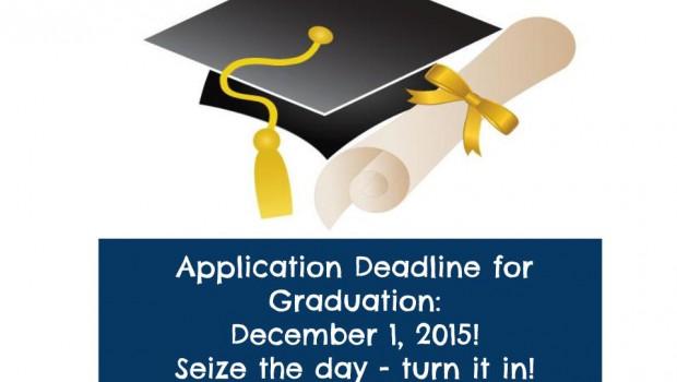 Grad App Deadline