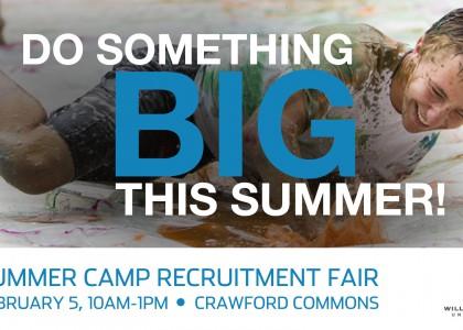 Summer Camp Recruitment Fair – Feb. 5
