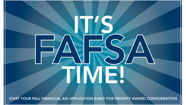 It's time to complete your 2016-2017 FAFSA!