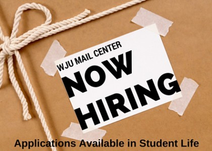 Hiring for Student Mail Clerk