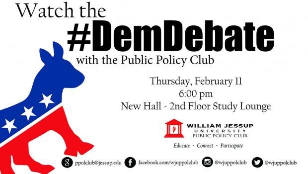 Democratic Debate NEXT THURSDAY!!