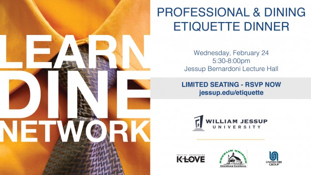 Professional & Dining Etiquette Dinner – tickets now on sale