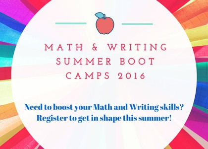 Summer Boot Camps help you prepare for the English and Math 092 challenge exams!
