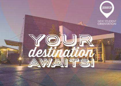 New Student Orientation: August 20-23