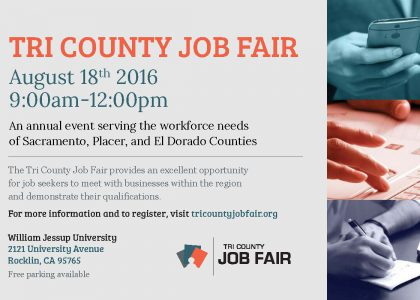 Tri-County Job Fair @WJU Aug. 18