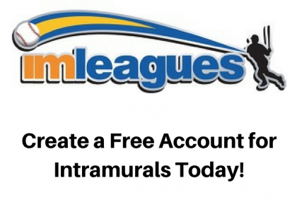 Get your Free Intramural Sport Account!!!