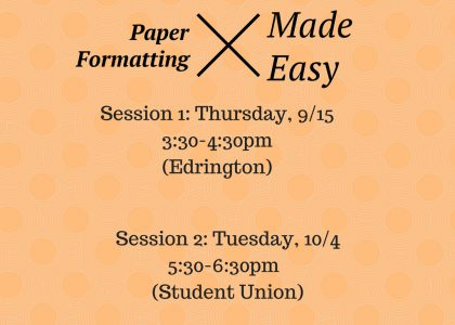Paper Formatting Made Easy