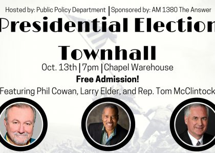 Presidential Election Townhall