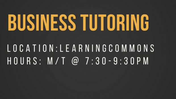 Business Tutoring – Hours
