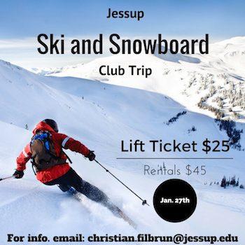 Jessup Ski and Snowboard Club Trip