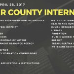 Placer County now recruiting for PAID Internships