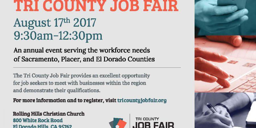 Tri-County Job Fair – Aug. 17