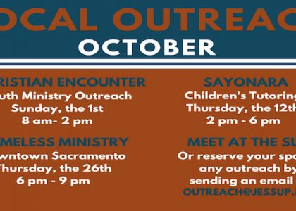 October's Local Outreach Events