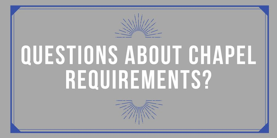 Chapel Registration Benchmark Approaching Quickly!