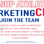 Marketing Cru Needs You!