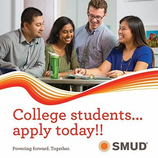 Apply for SMUD Summer 2018 Internships thru Jan. 31
