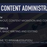 Student Worker Position – Web Content Administrator
