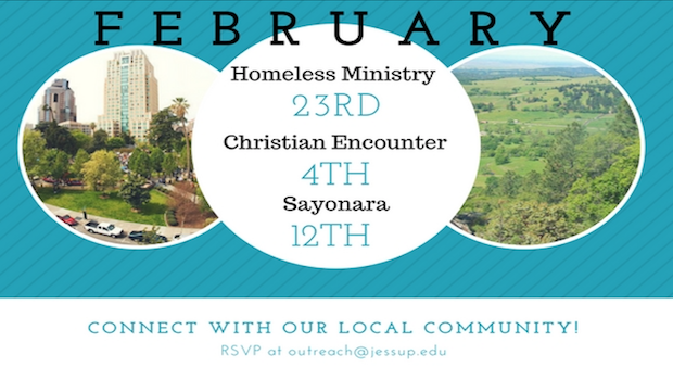 February's Local Outreach Events