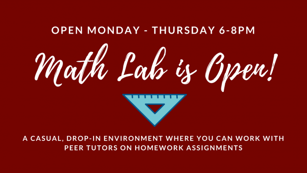 Math Lab is Now Open!