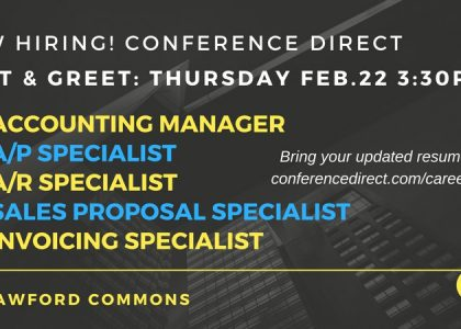 Conference Direct Hiring Event